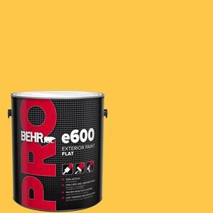 Behr Pro 1 Gal 350b 7 Chickadee Flat Exterior Paint Pr61301 The Home Depot