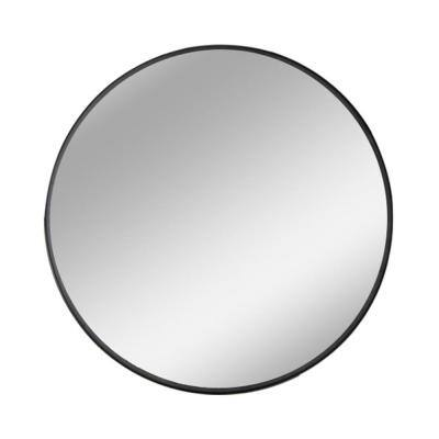 Modern Metal Round Hanging/Wall Mounted/Vanity Bathroom Mirror Black/Gold