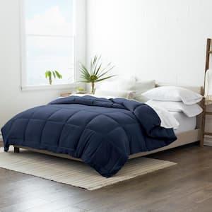Performance Navy Solid King Comforter