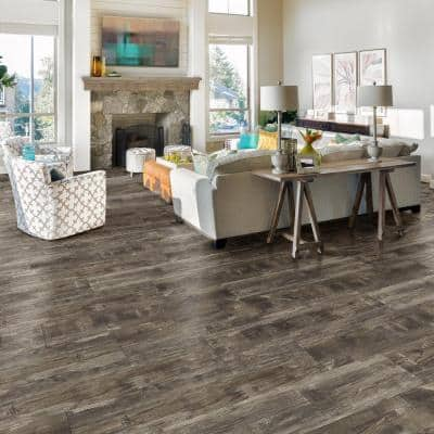Restored Wood 8.7 in. W x 47.6 in. L Luxury Vinyl Plank Flooring (20.06 sq. ft. / case)