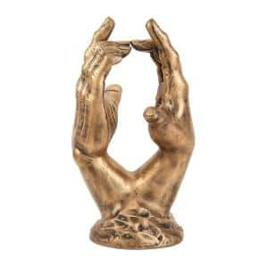 Gold Aluminum Sculpture