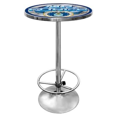 U.S. Air Force Chrome Pub/Bar Table
