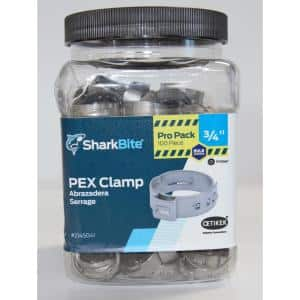 3/4 in. PEX Barb Stainless Steel Clamp (100-Pack)