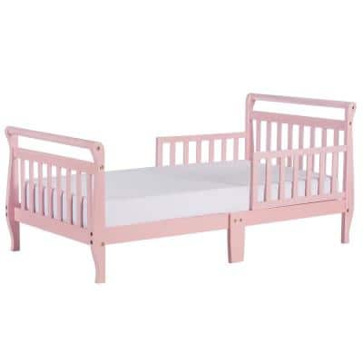 Pink Toddler Sleigh Bed
