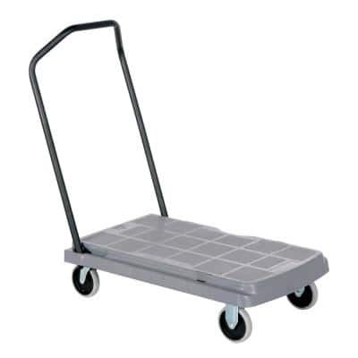800 Capacity Platform Truck with Fold Down Hand