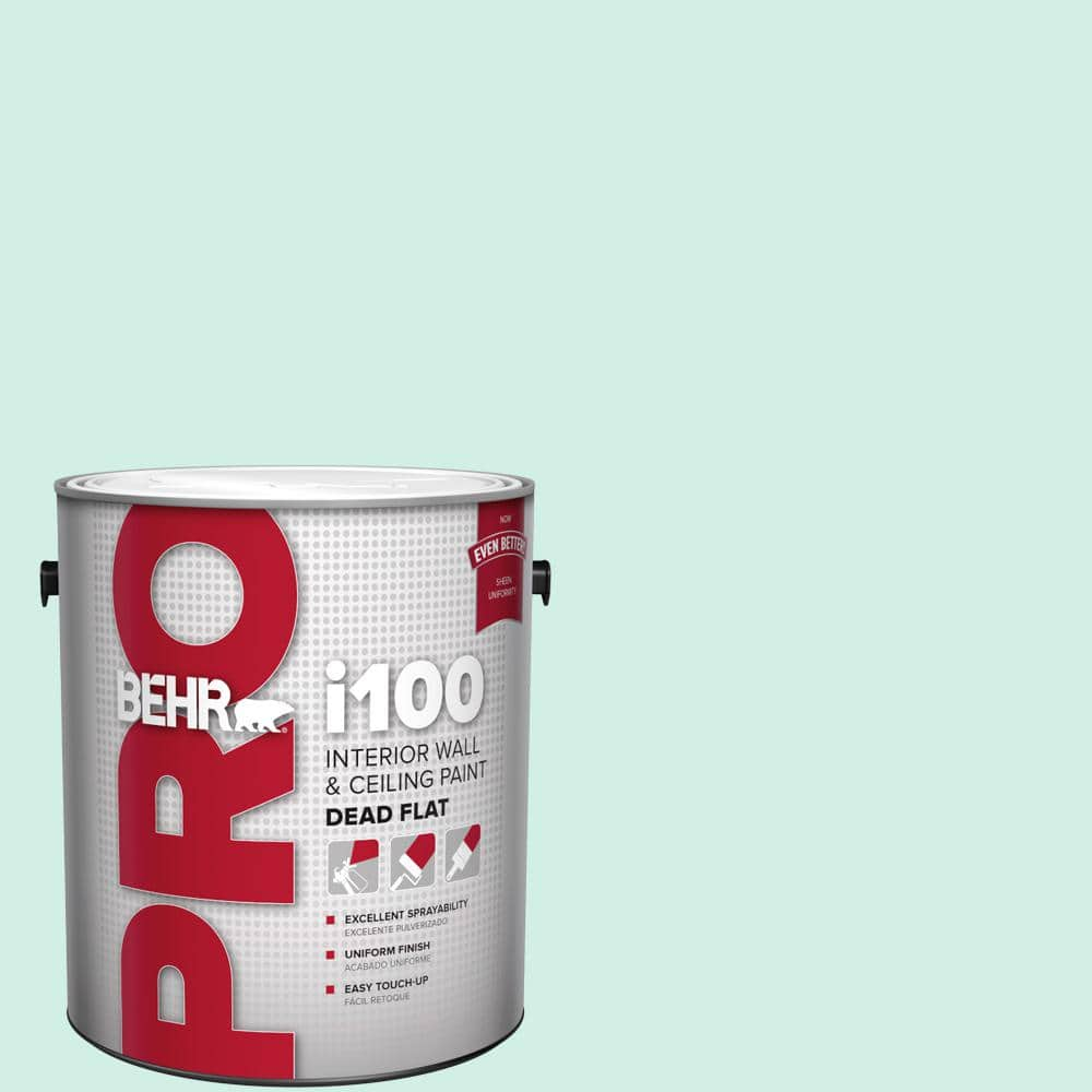 Behr Pro 1 Gal P440 1 Shimmering Pool Dead Flat Interior Paint Pr10501 The Home Depot