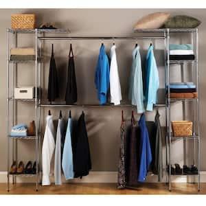 UltraZinc Expandable Closet Organizer System