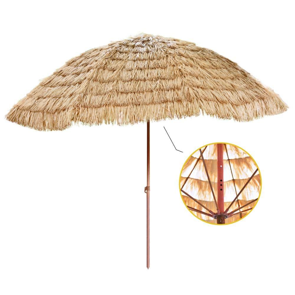 Tiki Thatched Hula Outdoor Patio Umbrella Sun Shade Hawaiian style Umbrella