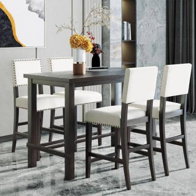 Counter Height 35 36 In Dining Room Sets Kitchen Dining Room Furniture The Home Depot