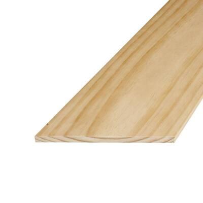 1 in. x 10 in. x 8 ft. S4S Radiata Pine Board