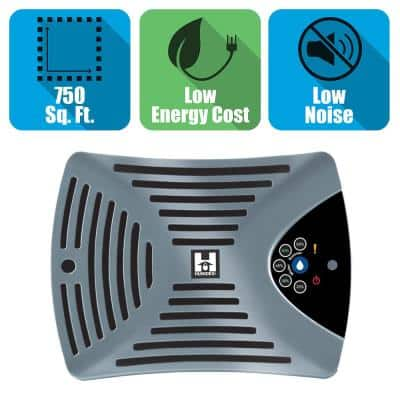 Garage Energy Efficient Digital Ventilation System/Dehumidifier with CO Sensor for 750 sq. ft.