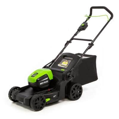 PRO 17 in. 60-Volt Battery Cordless Lawn Mower (Tool-Only)