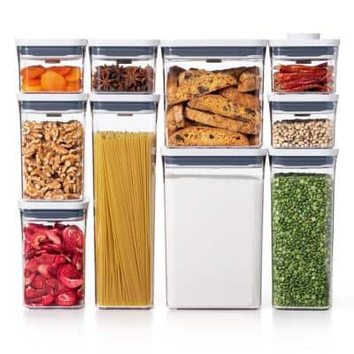 Good Grips 10-Piece POP Assorted Container Set with Airtight Lids