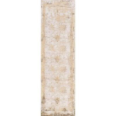 Shawanna Vintage Sand 3 ft. x 8 ft. Runner