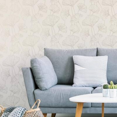 Silver Hikarigaoka Silver Wallpaper Sample