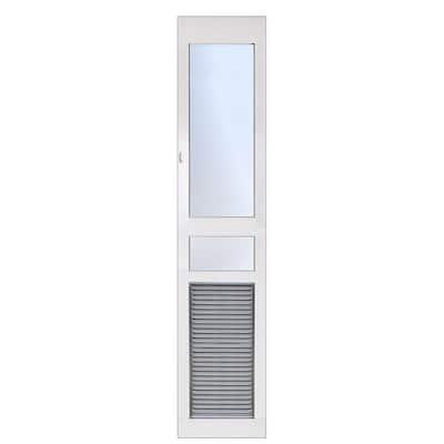 12.5 in. x 25 in. Weather and Energy Efficient Pet Door with Magnetic Closure for Regular Height Patio Doors