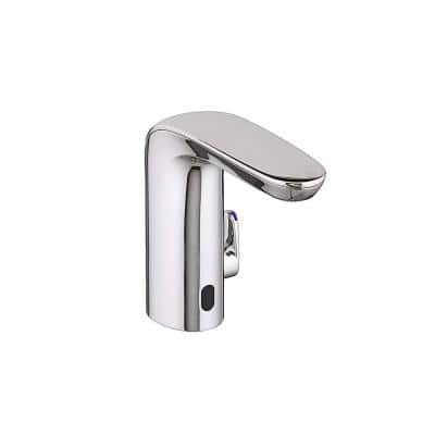 NextGen Selectronic Battery Powered Single Hole Touchless Bathroom Faucet with Above Deck Mixing 0.35 GPM in Chrome