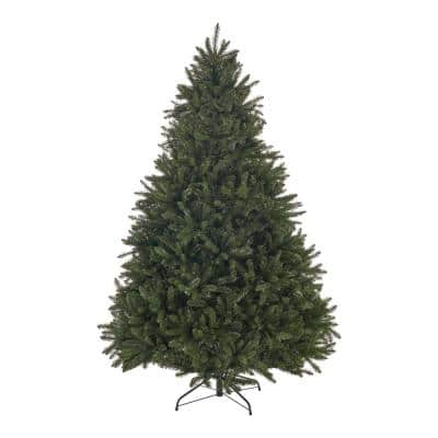 9 ft. Unlit Norway Spruce Hinged Artificial Christmas Tree