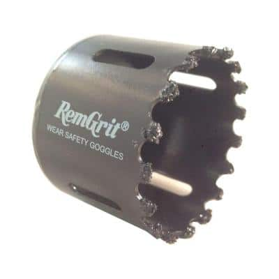 2-1/8 in. Diameter Carbide Grit Hole Saw