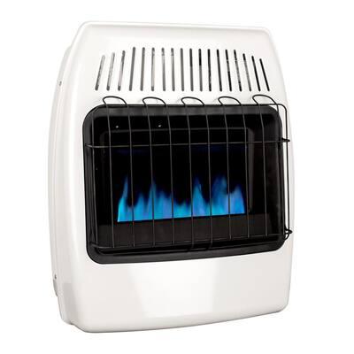 20,000 BTU Blue Flame Vent Free Liquid Propane Wall Heater