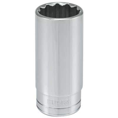 1/2 in. Drive 15/16 in. 12-Point SAE Deep Socket