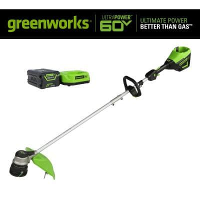 PRO 16 in. 60V Battery Cordless String Trimmer with 2.5 Ah Battery and Charger
