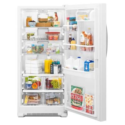 17.7 cu. ft. SideKicks Freezerless Refrigerator in Monochromatic Stainless Steel