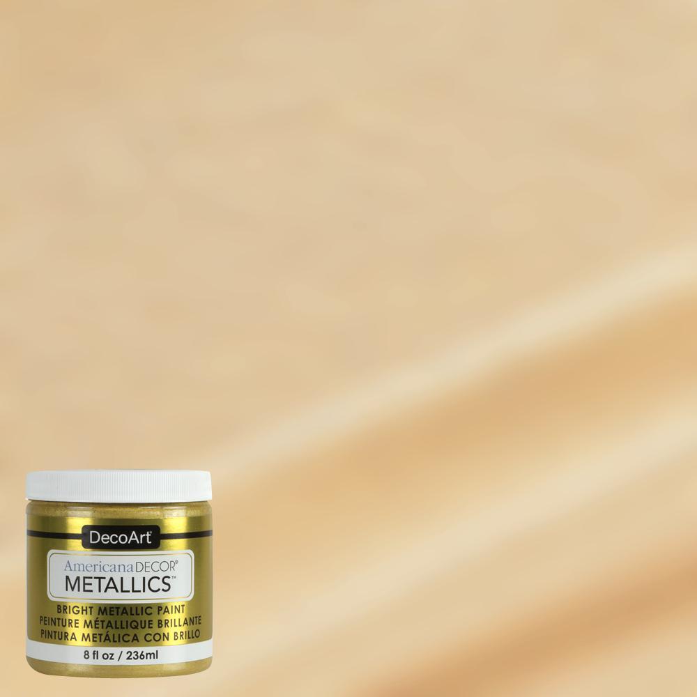 8 oz. Metallic Soft Gold Paint