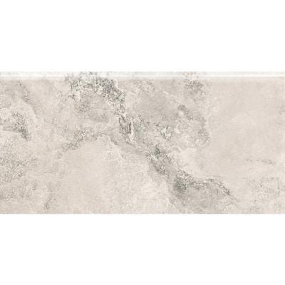 Tavern City Hopp S4489 4-1/4 in. x 8-1/2 in. Ceramic Bullnose Wall Tile (20 each / carton)