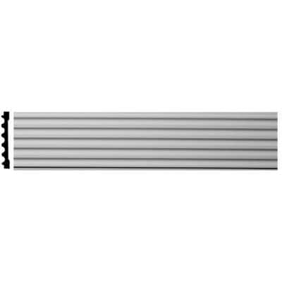 1 in. x 7 in. x 78-3/4 in. Primed Polyurethane Fluted Casing