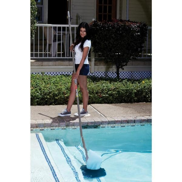 Poolmaster Premier Leaf Swimming Pool Vacuum 28316 The Home Depot