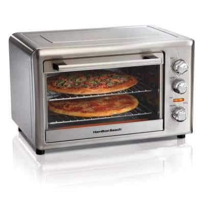 Stainless Steel Countertop Oven with Convection and Rotisserie