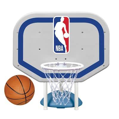 NBA Logo Pro Rebounder Swimming Pool Basketball Game