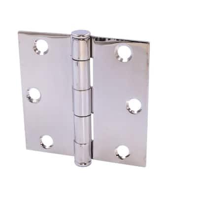 3 in. Stainless Steel Broad Utility Hinge