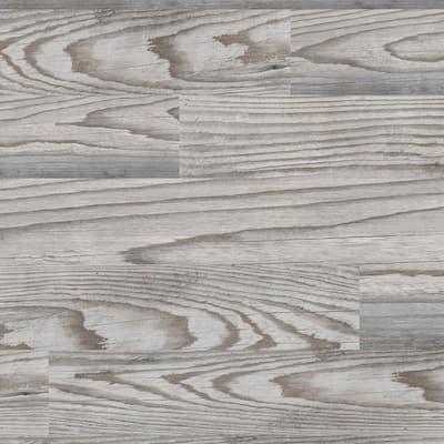 Village Grey 8 in. x 26 in. Glazed Porcelain Antislip Floor Tile (12.92 sq. ft./case)