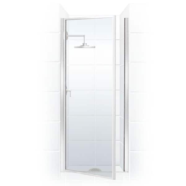 Framed Hinged Shower Door, Shower Stall Glass Doors Home Depot
