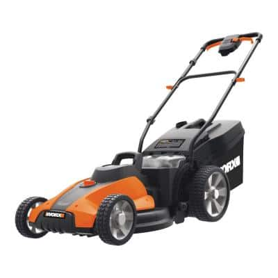 Power Share 17 in. 40-Volt Li-Ion Cordless Battery Walk Behind Push Mower with Mulching (Tool Only)