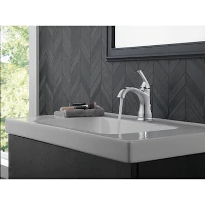 Portwood Single Hole Single-Handle Bathroom Faucet in Chrome