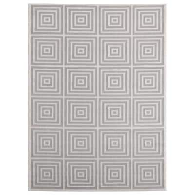 Cascades Tehama Sand 7 ft. 10 in. x 10 ft. 6 in. Area Rug