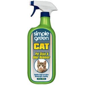 32 oz. Cat Pet Stain and Odor Remover (12-Case)