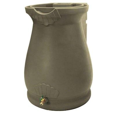65 Gal. Sandstone Urn Rain Barrel