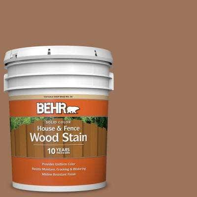 5 gal. #SC-152 Red Cedar Solid Color House and Fence Exterior Wood Stain