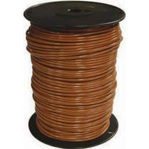 500 ft. 8 Brown Stranded CU SIMpull THHN Wire