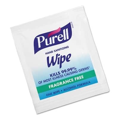 5 in. x 7 in. Sanitizing Hand Wipes (1000 per Carton)