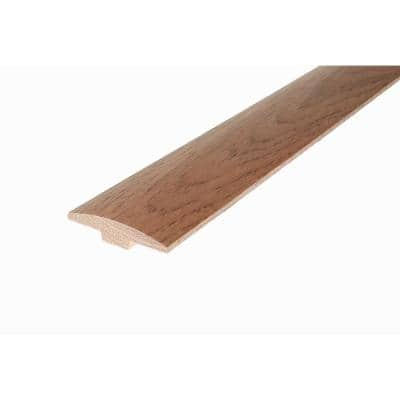 Solid Hardwood Adelle 0.28 in. T x 2 in. W x 78 in. L Low Gloss T-Mold