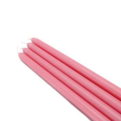 12 in. Pink Taper Candles (12-Set)