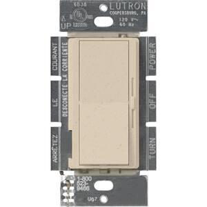 Diva 1.5 Amp Single-Pole/3-Way 3-Speed Fan Control, Stone