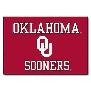 NCAA University of Oklahoma 19 in. x 30 in. Indoor Starter Door Mat