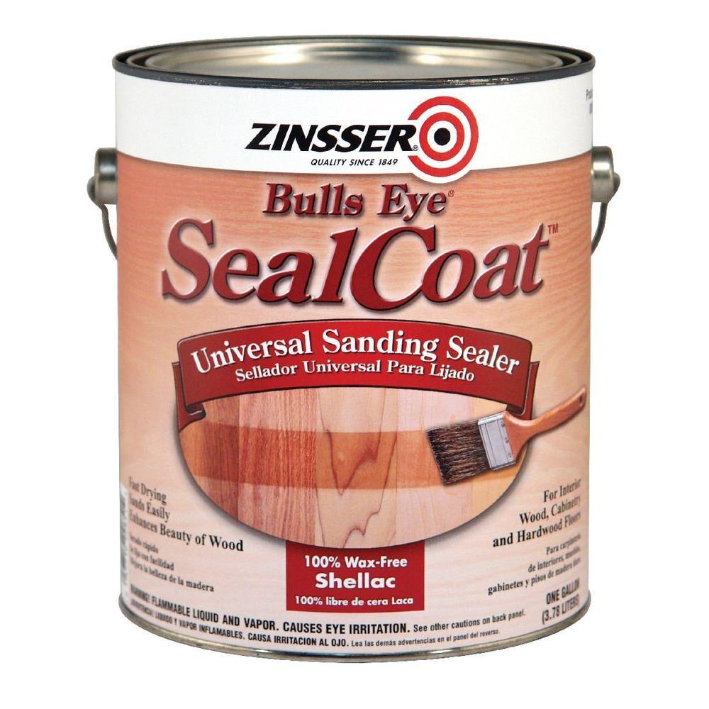 1 Gal. SealCoat Clear Matte Sanding Interior Sealer (Case of 2)