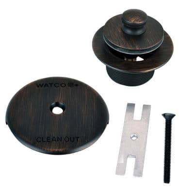 1.865 in. Overall Diameter x 11.5 Threads x 1.25 in. Lift and Turn Trim Kit, Oil-Rubbed Bronze